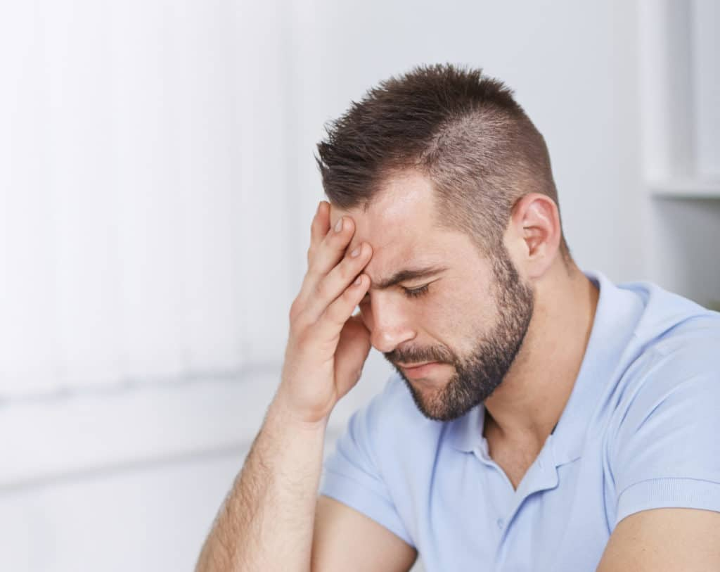 Stressful marriage upset wife