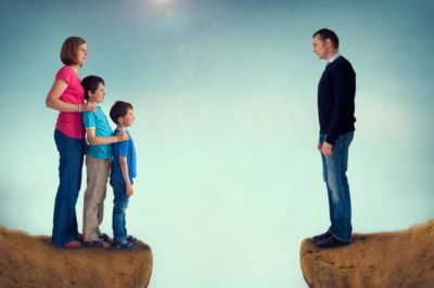 Family and marriage splitting up