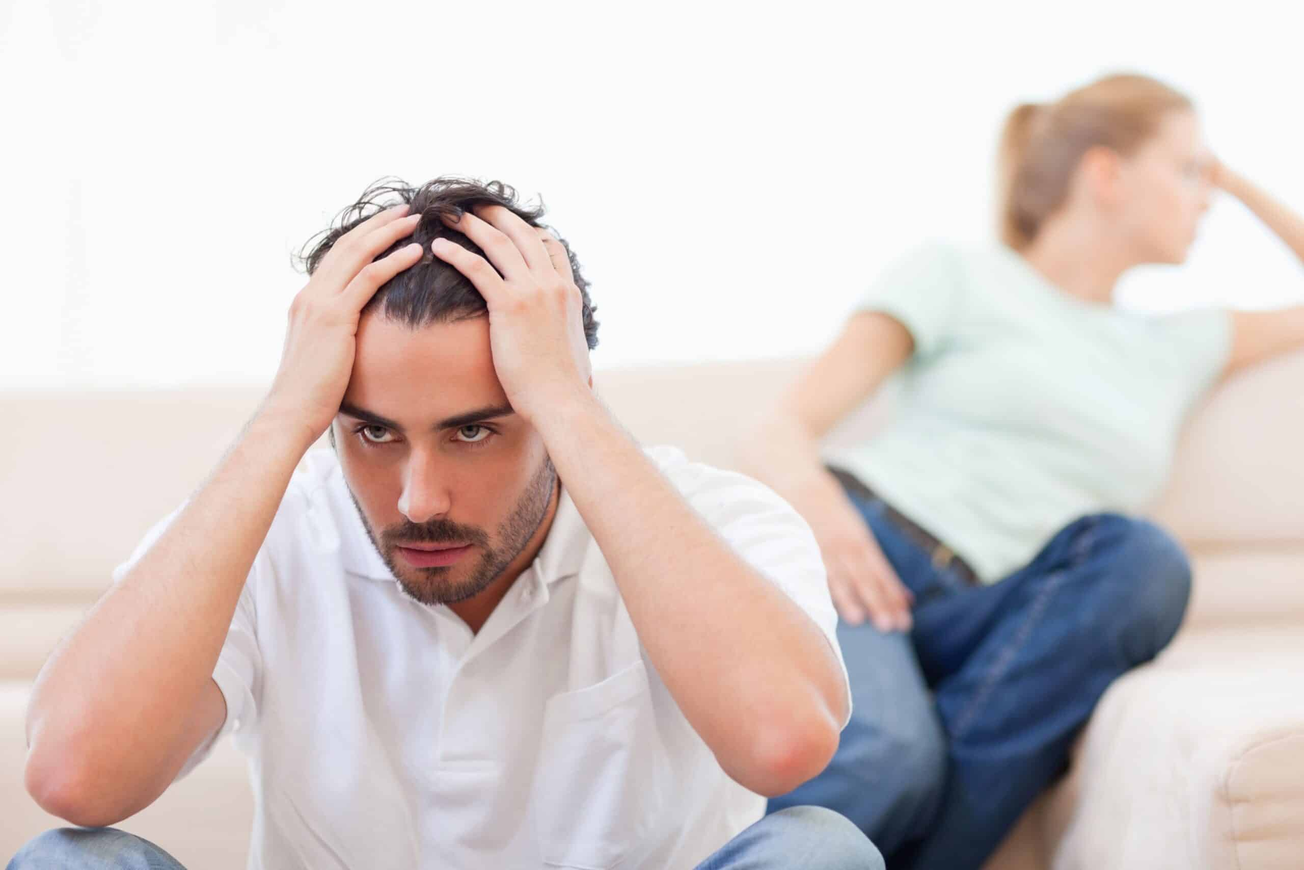 Wife threatened divorce